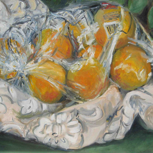 9--Oranges-in-a-Bag,-16x20_,-oil_canvas-#864a